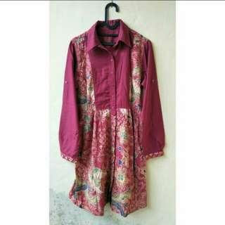 Batik pink dress Rodeo