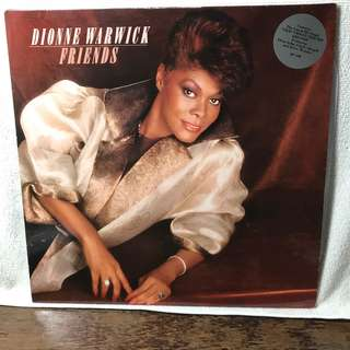 "Dionne Warwick 12"" LP Record - Title: Friends - With her Song hit : "" That's What Friends are for"""