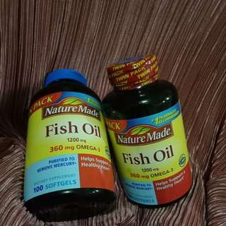 NatureMade Fish Oil (100 softgels)