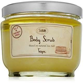 Sabon Body Scrub Tropic 熱帶果香身體磨砂 600g