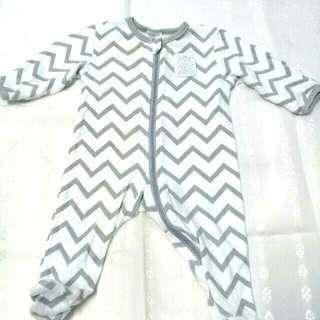 0-3 months Baby Berry Overall / Sleepsuit