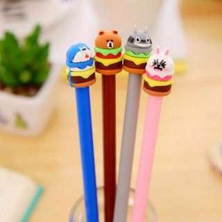 Hamburger Pens - Pink Rabbit only