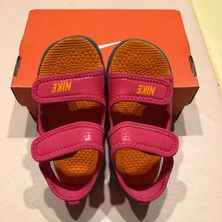 (全新) Nike City Sandal III 兒童雙環防滑輕便涼鞋 - 9C