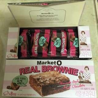 🚚 🔥(現貨)8入/192g韓國帶回【Market O】52%布朗尼派