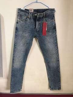(全新正品)Levis 512 刷白水洗 牛仔褲 修身窄管