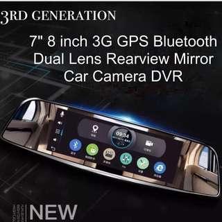 HYUNDAI Android GPS Navigation 7 Inch Car DVR Front and Rear view Mirror WIFI Navigator 16GB ROM/1GB RAM  FHD 1080P Dash Cam