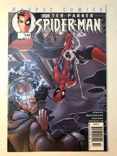 Peter Parker Spider-Man # 34