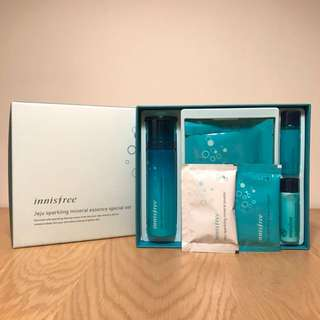 (New) Innisfree Jeju Sparkling Mineral Essence Special Set