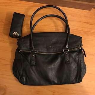 Kate Spade Black large shoulder bag tote bag