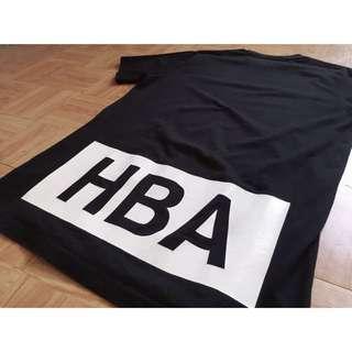 Hood by air 高階潮牌HBA 經典logo 短袖T恤