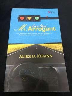 Novel Love You Mr Arrogant