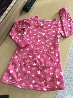 Lativ刷毛連身裙