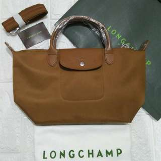 INSTOCK Longchamp Neo brown small