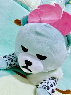 KOAOISORA 2018 KRUNK x BIGBANG - Super BIG Sleeping Plushy 超BIG寝そべりぬいぐるみ 38cm TOP 景品公仔 (全新)