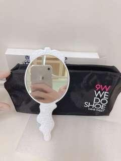 化妝包+手拿鏡