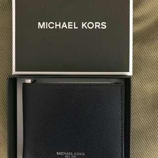 MK男短夾禮盒