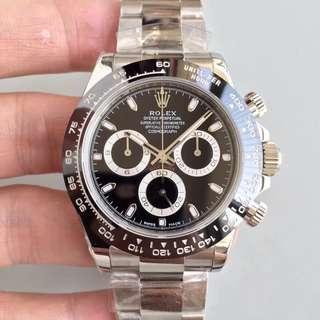 環亞  勞力士 Rolex daytona 116500 黑面 40mm 計時 AR工廠 陶瓷 新款面交