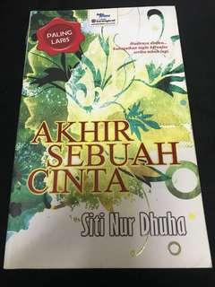 Novel Akhir Sebuah Cinta