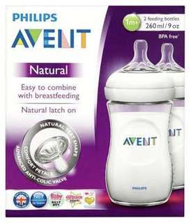 Avent Natural Freding Bottle 9oz