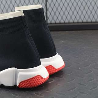 "Balenciaga Speed Trainer ""Black Red"""