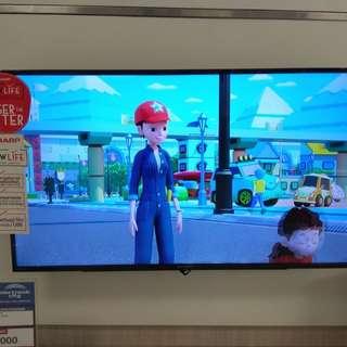 """Sharp 40"""" LED TV,Bisa cicilan mudah tanpa kartu kredit proses 3 menit"""