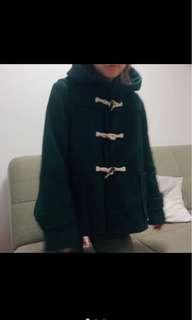 日本帶回 9成新 森林綠 外套