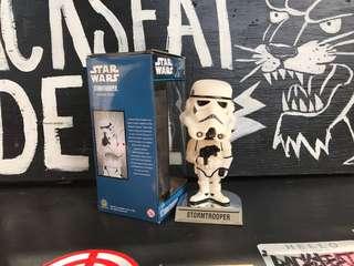 瑕疵特價 FUNKO 星際大戰 Star Wars 帝國風暴兵 白兵 搖頭公仔 BOBBLE HEAD 美式玩具 收藏 擺設