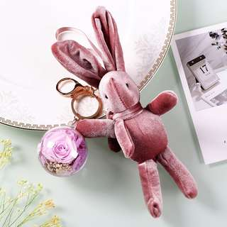 FATHER'S DAY GIFT - KCR0010 Korean Rabbit with flower ball