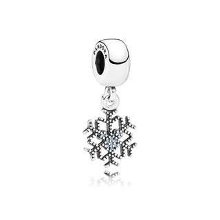 Pandora Mickey Snowflake Charm