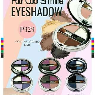 4 Color Shimmer Eyeshadow with Milk