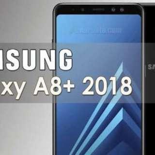 Cicilan tanpa kartu kredit Samsung galaxy A8+ 2018