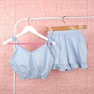Php310 Set (Crot top & Short)