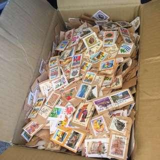 郵票,舊票,整箱破萬枚出清