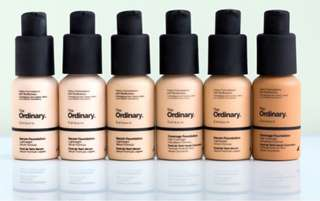 THE ORDINARY COVERAGE / SERUM FOUNDATION