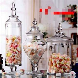 Apothecary Glass Jar & Candy jars for rent