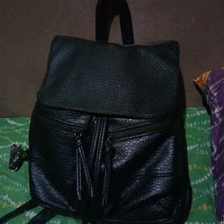 Preloved black backpack
