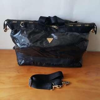 LeSportsac Joyrich設計師款-黑色旅行袋(限量)