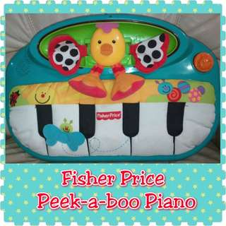 Fisher Price Miracles & Milestones Peek-A-Boo Piano