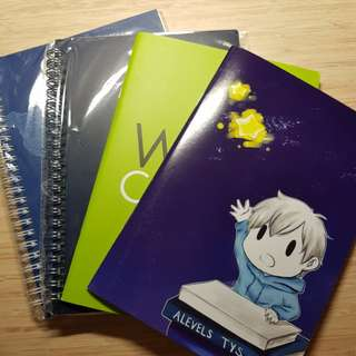 Notebooks & Post-it Pad