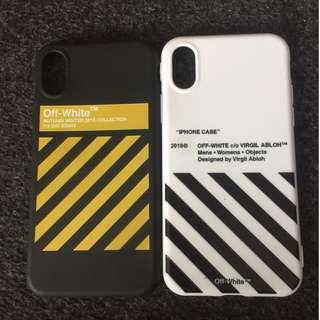 Off White Virgil Abloh Case Cover Casing Zebra Iphone X