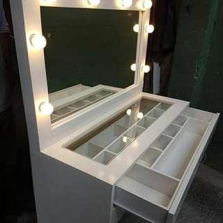 Vanity Table - Vanity Mirror set