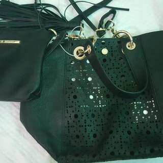 STEVE MADDEN Tote Bag w/ Pouch