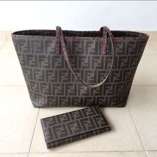 Authentic Fendi Tote Bag-Just the bag only 😁