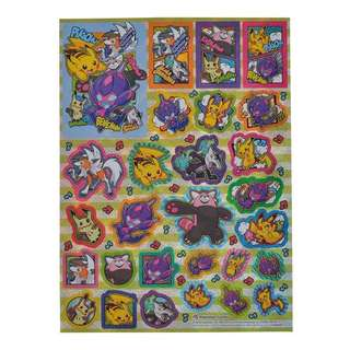 STICKERS SHEET [POIPOLE & FRIENDS] - POKEMON CENTER EXCLUSIVE