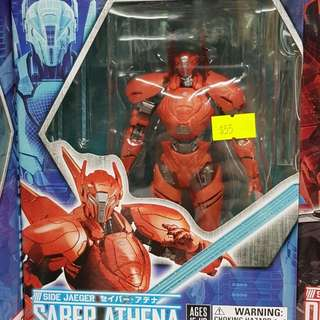 bandai side jaeger robot spirits saber athena in stock pacific rim