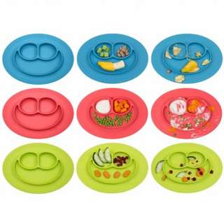 Baby Silicone Placemat plate