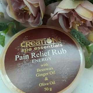 Creations Spa Essentials Pain Relief Rub