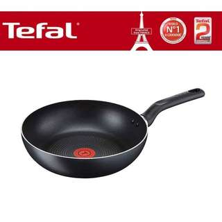 [FREE SHIPPING] Tefal - B14386 Super Cook Non-Stick Wokpan 26cm with Thermo-Spot Technology