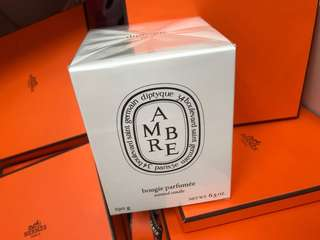 Diptyque Amber candle new 法國製造 送禮一流