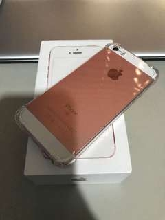 Iphone se 16gb rose gold globe locked not 5s 6s 7
